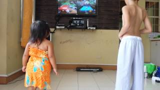 Diwi and Kiara kinect session Thumbnail