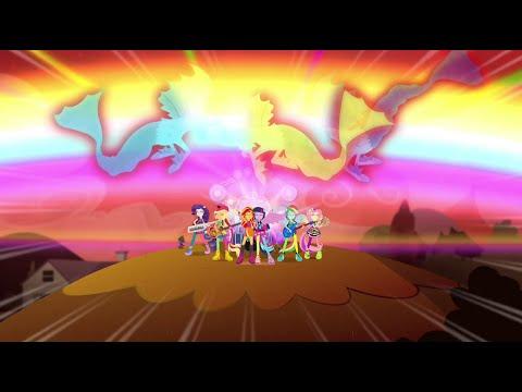 [Arabic] Equestria Girls Rainbow Rocks | Welcome To The Show [HD]