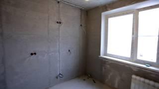 Черновые работы | Санузел - Кухня - Коридор | Обзор ремонта