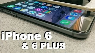 iPhone 6 and 6 plus Hands On | First impressions quickie | my thoughts