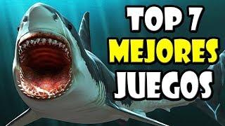 Top 7 Mejores Juegos De Tiburones Youtube