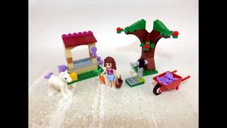 Klokriechers' Creations - Building Lego Friends - Olivia's Newborn Foal