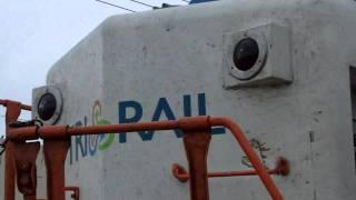 Tri Rail Train part arrives Golden Glades station