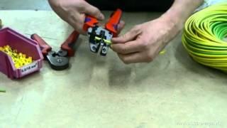 Опрессовка изолированных наконечников(Для качественного и надежного присоединения гибких проводов к электрооборудованию их необходимо обжать..., 2012-04-06T06:04:34.000Z)