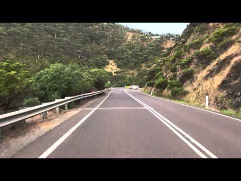"""The Great Ocean Rd, Australia, on a 1948 Vincent HRD Series """"B"""" Rapide"""