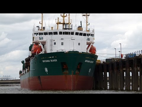 Coastal Shipping on the Thames and Medway in August 2013 Part 1