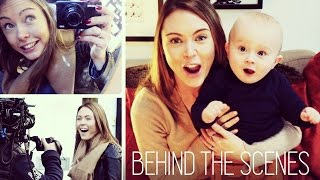 BEHIND THE SCENES AT A C&G SHOOT | HANNAH MAGGS Thumbnail