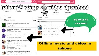 Twitter video downloader iPhone video clip