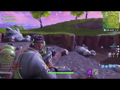 New Fortnite Sky Stalker Gameplay And The Last Gasp On All My Characters
