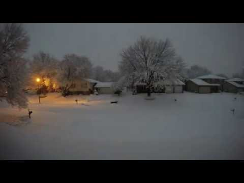 Winter Storm Linus in Bettendorf, Iowa