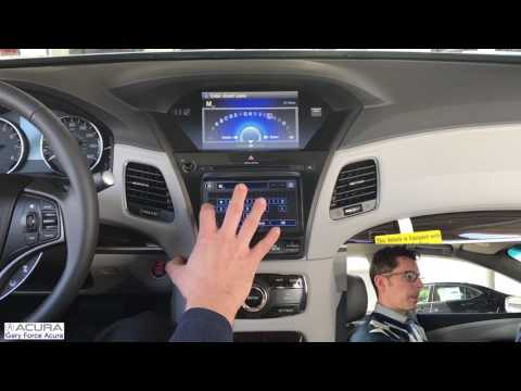 Entering An Address Into Acura Navigation