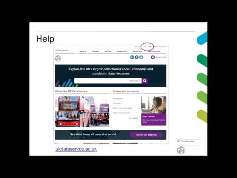 Webinar: Gateway to Global Aging Data
