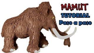 Como hacer un mamut de Plastilina / How to make a mammoth with clay