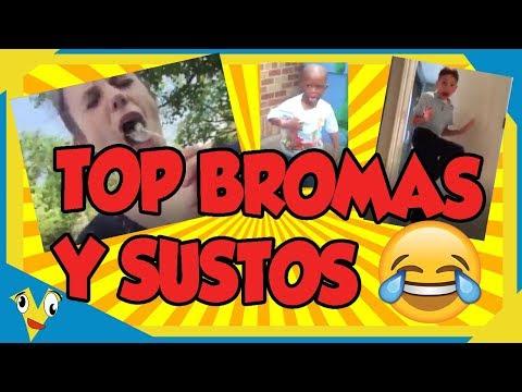 VIDEOS DE BROMAS Y SUSTOS ✅ [TOP pa que te rias] Yo tambien me reí bastante 😆😆