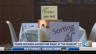 Muggles gathered for Magic at the Museum in Holland