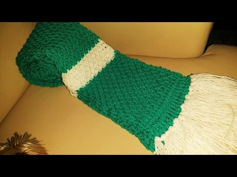 Glamas Tunisian Honeycomb Scarf Tutorial Giveaway Youtube