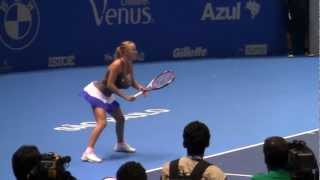 Wozniacki imita Serena Williams - CurtaTênis!