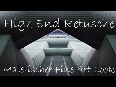 Mein Fine Art Workflow #8 - Malerischer Clean Look mittels Retusche