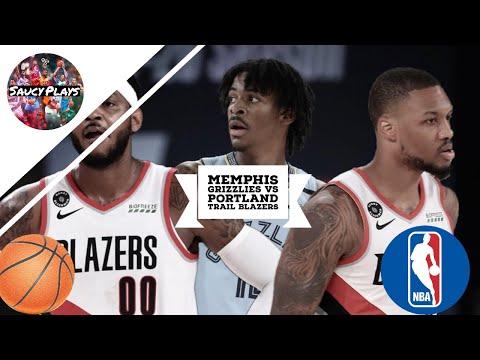 Memphis Grizzlies vs Portland Trail Blazers - Full Game Highlights | July 31, 2020