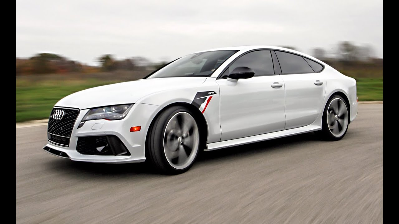 Apr Audi Rs7 Stage 1 Instrumented Test You