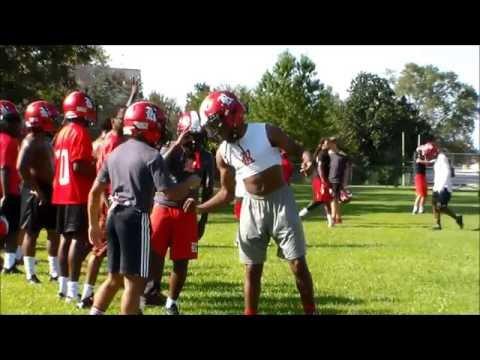Riverdale High School Football Team Powerade Power Through Challenge