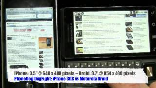 iPhone 3GS vs Motorola Droid: DogFight, Pt 1