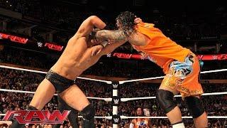 Jimmy Uso vs. The Miz: Raw, Nov. 3, 2014