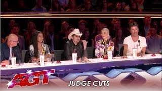 And39agtand39 Judge Cuts Welcomes Country Superstar Brad Paisley  Americaand39s Got Talent 2019