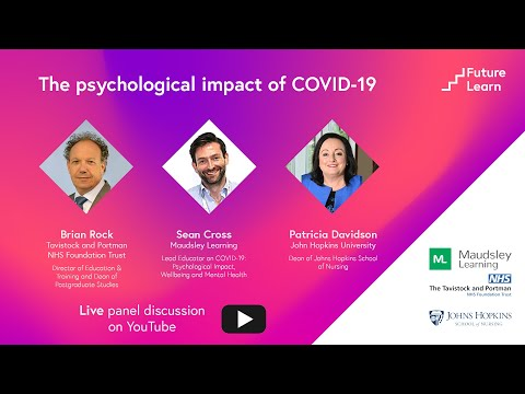 COVID-19: Psychological Impact, Wellbeing and Mental Health