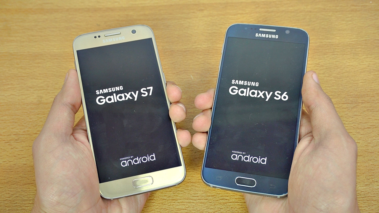 Samsung Galaxy S7 OFFICIAL Android 7.0 Nougat vs Galaxy S6 ...