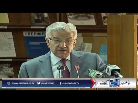 Khawaja Asif criticizes India for violating Indus Waters Treaty