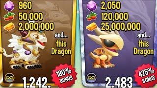 SIÊU KHUYẾN MÃI @@ CHỈ VỚI 2 CỦ SẼ NHẬN DC 2K GEM :V - Dragon City Game Mobile Android, Ios