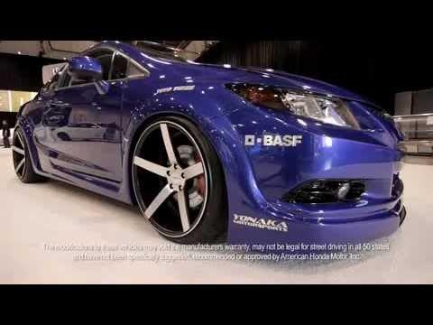 Tuned 2012 Honda Civic Si Coupe by Fox Marketing  YouTube