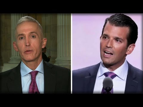 TREY GOWDY JUST BROKE HIS SILENCE, COMES FORWARD WITH MAJOR ANNOUNCEMENT ABOUT TRUMP JR.