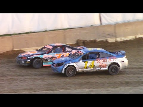 Mini Stock Feature | Old Bradford Speedway | 7-9-17
