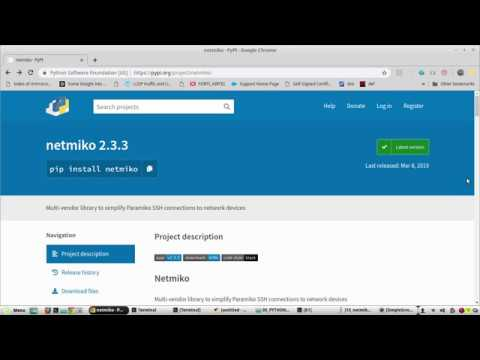 Python learning for Network Engineers Part 19 | Netmiko ssh and configure  Cisco using text file