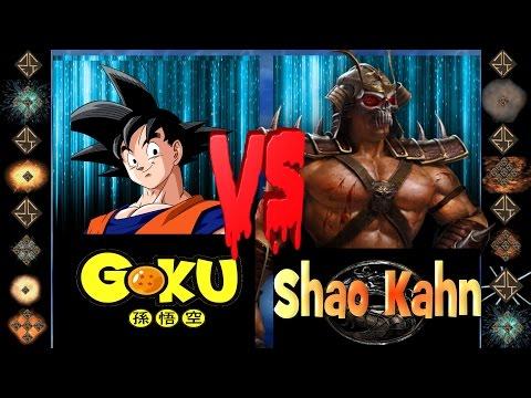 Goku (Dragonball Z) vs Shao Khan (Mortal Kombat) - Ultimate Mugen Fight 2017