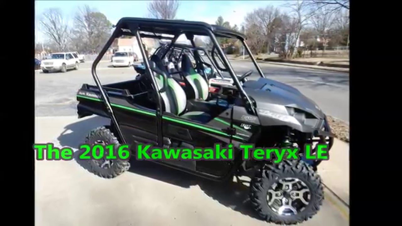 2016 Kawasaki Teryx Le At Wheeler Sports In Fort Smith Ar