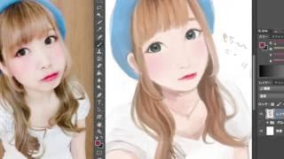 使用ソフト:PhotoshopCC2014 BGM:http://dova-s.jp/bgm/play4651.html...