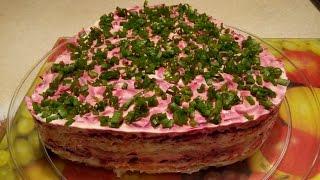 """Салат """" Шуба""""))) Оригинально. Без селедки,но очень вкусно."""
