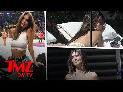 Emily Ratajkowski Sunbathing in Tiny, Barely-There Bikini | TMZ TV