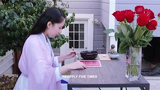 Homework_Ancient Han Dynasty Makeup_Season 1 All Natural_Episode 1 Rose Lipstick Paper