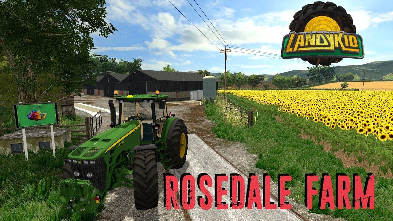 Rosedale Farm V 1 0 [SP] | Farming simulator 2015 mods