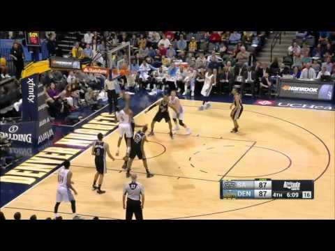 San Antonio Spurs vs Denver Nuggets | April 8, 2016 | NBA 2015-16 Season