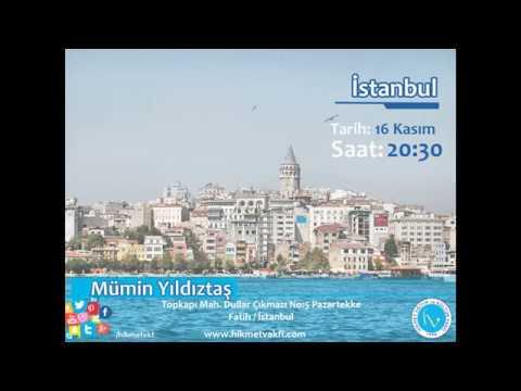 Mümin Yıldıztaş - İstanbul