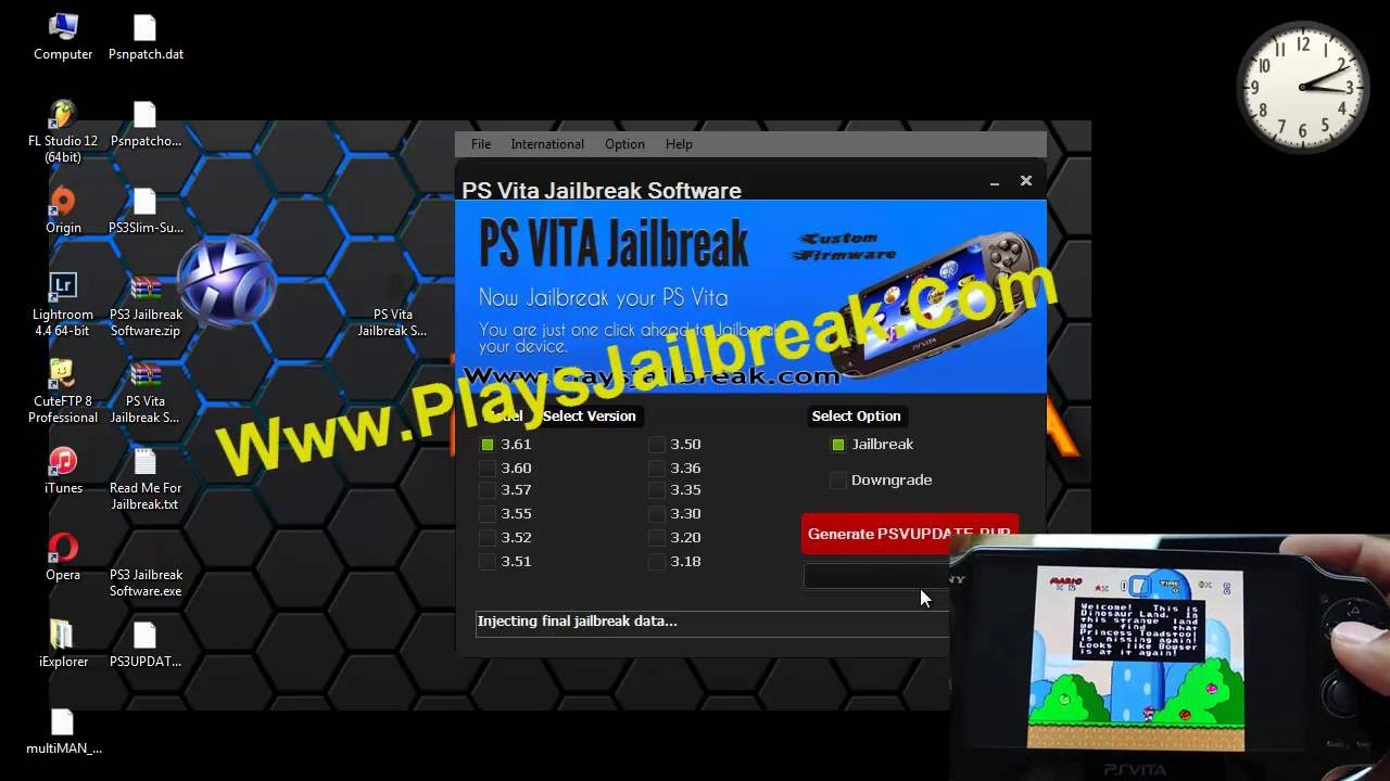 how to download ps vita downgrader