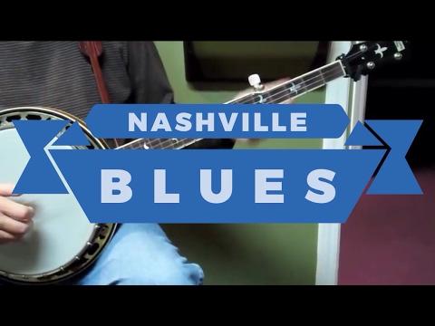 Nashville Blues - Walk Through and Demo - Bluegrass Banjo