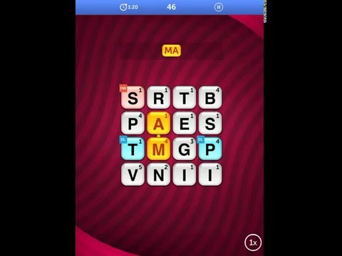 Word Streak By Words With Friends iOS Gameplay