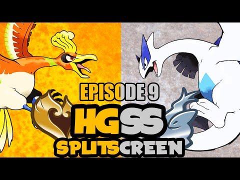 Pokemon Heart Gold/Soul Silver: CO-OP SPLITSCREEN Episode 9 - Wiggle Wiggle Wiggle... Yeah!