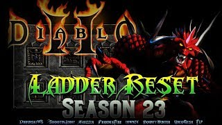 Diablo 2 - LADDER RESET!!! Season 23 12/07/2018